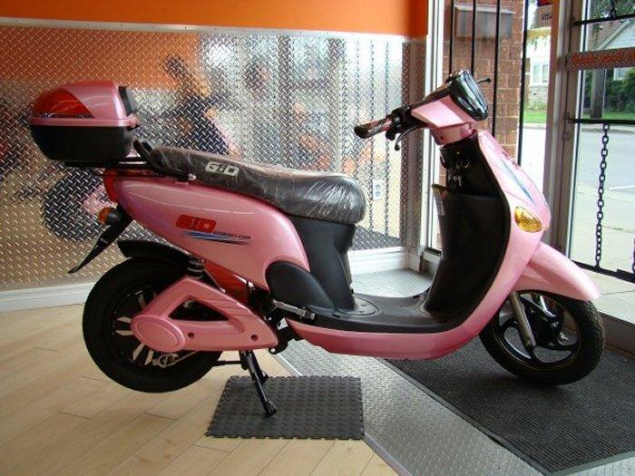 GIO E-Bike Pink